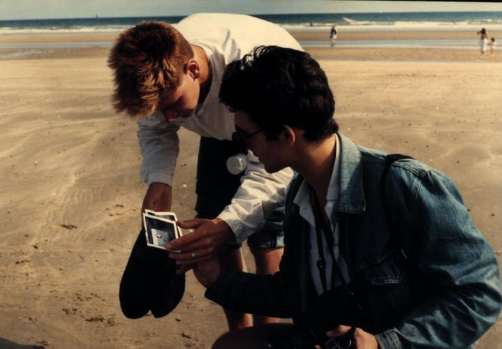 Shooting photos for fashion, years 80's