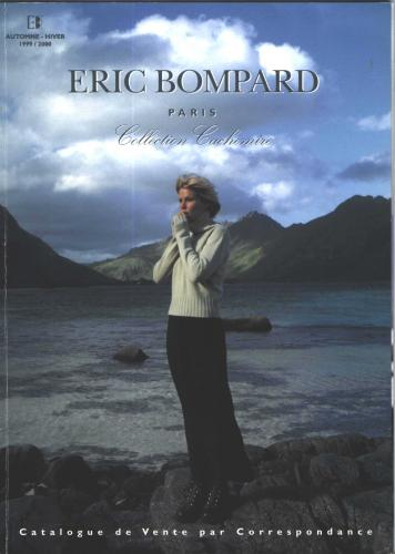 Shooting photos for fashion, Catalogue Eric Bompard, years 90's, Norvège