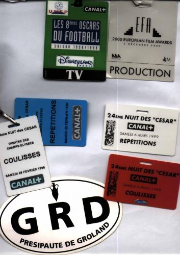 Badges d'interventions