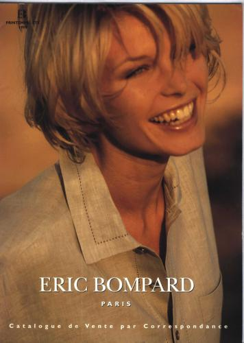 Shooting photos for fashion, Catalogue Eric Bompard, years 90's